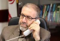 گفتوگوی تلفنی ذوالفقاری با معاون وزیر کشور ترکیه