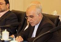 وزیر اقتصاد: ایران نگاه ویژه ای به توسعه روابط با چین دارد