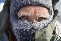 چوپان عشایر در سرمای خراسان شمالی یخ زد