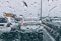 آخرین وضعیت ترافیکی راهها/ بارش باران و برف در محورهای شمالی