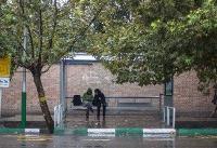 وضعیت جوی تهران در اولین و دومین روز سال جدید: بارش پراکنده  وزش باد