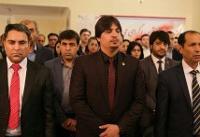 خداحافظی سفیر افغانستان در تهران با کارمندان و دیپلماتهای سفارت