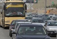 ترافیک در پنج جاده کشور پر حجم است
