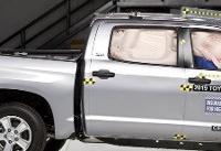 Some Pickups Lag in Passenger Crash Protection