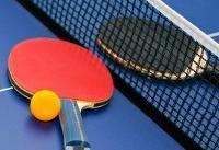 سه دختر پینگ پنگ باز ایران در رقابت های عمان حذف شدند