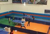 شکست تیم دو نفره دختران پینگ پنگ باز ایران در مسابقات بین المللی عمان