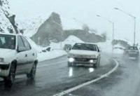 جاده های شمالی و کوهستانی استان تهران پوشیده از برف است