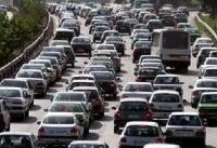 ترافیک سنگین در مسیر آزادراه «کرج ـ قزوین» و «قزوین ـ رشت»