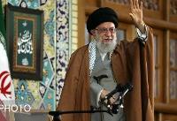 مقام معظم رهبری در اجتماع عظیم زائران و مجاوران حرم مطهر رضوی علیهالسلام