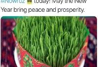 پیام نوروزی هلگا اشمید