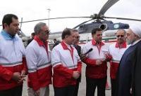 بازدید سرزده رییسجمهور از ایستگاه سلامت اورژانس در بزرگراه تهران-کرج