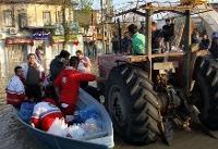 امدادرسانی به۳۷ هزار نفر در جریان سیل استان گلستان