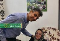 عادل فردوسیپور روز دوم عید به دیدار چه کسی رفت؟/عکس