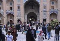 ورود مسافران نوروزی به استان کرمان ۴۸ درصد افزایش یافت