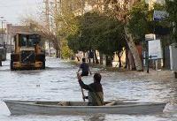 انتقال قایق از شهرهای همجوار به مناطق سیل زده گلستان