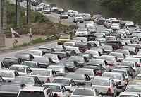 ترافیک پرحجم در هراز، چالوس و کرج - قزوین | بارش برف در خراسان شمالی و رضوی