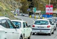 ترافیک بسیار سنگین در محور هراز