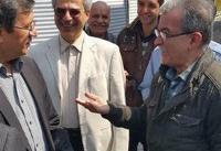 بازدید سرزده رئیس کل بانک مرکزی از صرافیهای تهران