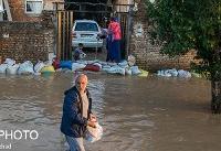 برق شهرهای سیلزده تا عبور سیلاب قطع است