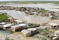 سیلاب حدود ۳۰ درصد گنبدکاووس را در برگرفت