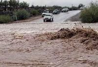 سیلاب مسیر دلگان - ایرانشهر در جنوب سیستان و بلوچستان را بست