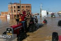 اعزام هیأت عالیرتبه نظامی به مناطق سیلزده گلستان و مازندران
