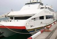 نخستین کشتی پیشرفته گردشگری ایرانی در کیش به آب انداخته شد