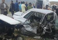 تصادف ۳ خودرو در شمال آذربایجان غربی ۵ کشته برجا گذاشت