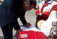 ۱۰۲ هزار مسافر نوروزی به پویش بهرفت هلال احمر ملحق شدند