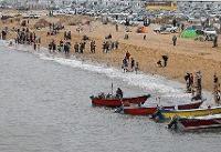 اسکان اضطراری مسافران در هرمزگان/ تردد کشتیها ادامه دارد