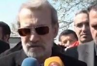 لاریجانی: بستههای حمایتی برای مردم سیلزده مازندران در نظر گرفته شود