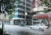 استان تهران بارانی می شود