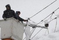 برف و سیل ۴۵۰ میلیارد ریال به تاسیسات برق مازندران خسارت زد