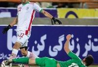 تساوی تیم فوتبال امید ایران مقابل یمن در نیمه نخست