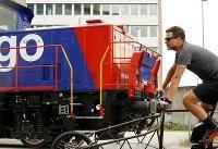 رونمایی سوئیسیها از دوچرخه عجیب حمل بار