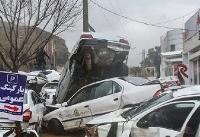 ۴ نفر از ۱۷ قربانی سیل شیراز شناسایی شدند