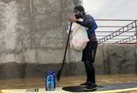 کمک رسانی برخی از ملی پوشان سابق قایقرانی به مردم سیل زده «آق قلا»