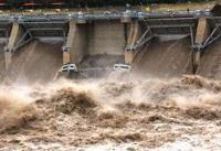 موج اولیه سیلاب وارد سدهای خوزستان شد