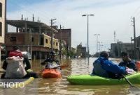 از قایقرانی جوانان برای نجات سیلزدگان تا اسکان در خانههای جوان