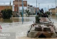 سد کهک سر ریز شد؛ بارندگی بسیار شدید در اتوبان تهران-قم