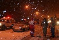 ۱۳ استان درگیر برف و کولاک