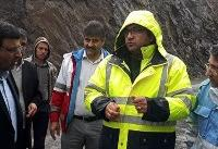 ریزش کوه «شاگرد خلیفه» نطنز خسارتی نداشت/ حفر کانال برای جلوگیری از شدت گرفتن سیل