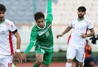 توقف تیم فوتبال امید ایران مقابل عراق/ صعود به اما و اگر کشید