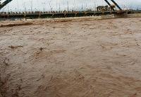 آخرین وضعیت سیلاب خوزستان/تراز آب کارون در حال خروج از حد نرمال