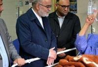 رئیس سازمان بازرسی از مصدومان سیل شیراز عیادت کرد