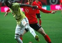 اولین باخت کیروش با کلمبیا/ طلسم ناکامی کره جنوبی شکست!