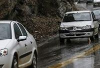 بازگشت باران به برخی محورهای مواصلاتی کشور