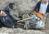 دستگیری ۶ حفار غیرمجاز در ابهر زنجان