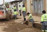 گل و لای خانهها تقریبا پاکسازی شده/تسهیلات اسکان اضطرای از فردا به پلدختریهاداده میشود