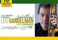 اجرای لیو گاندلمان آهنگساز و نوازنده برزیلی در تهران